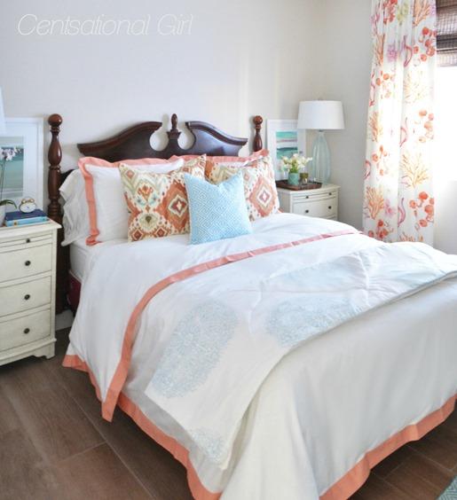 welcoming guest bedroom