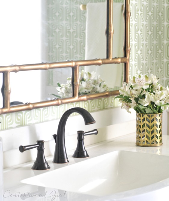 New gold mirror oil rubbed bronze bathroom faucet