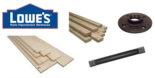 lowes building supplies