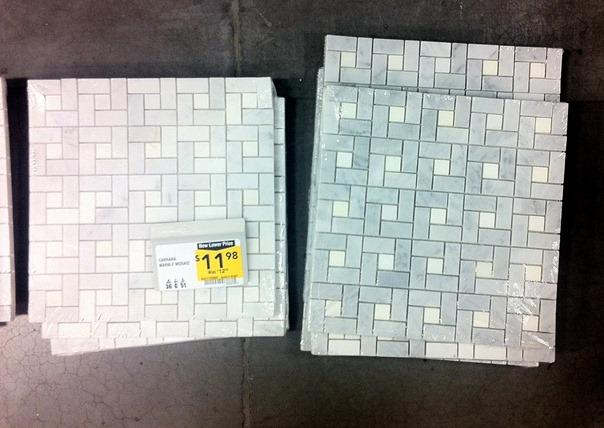 lowes mosaic tile