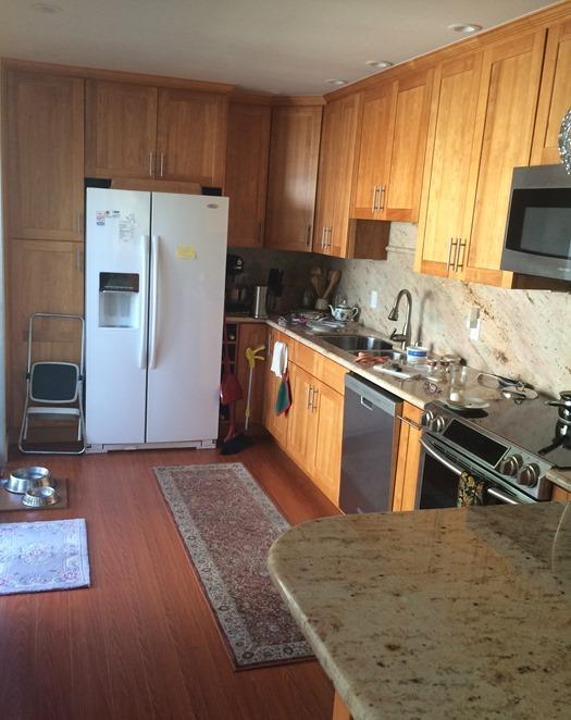 Inspirational wood cabinets same kitchen