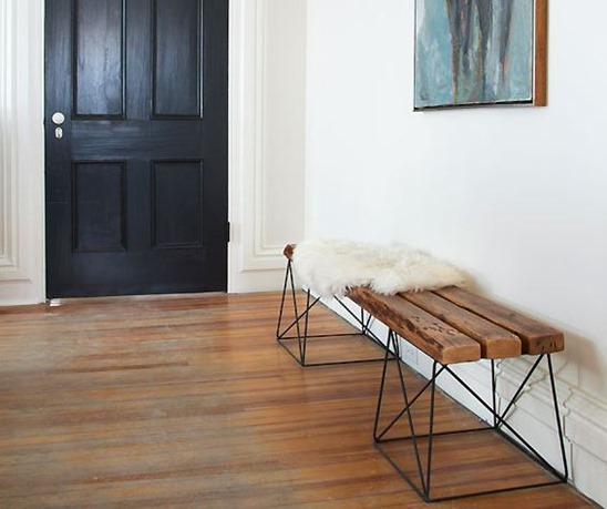 diy bench with target stools