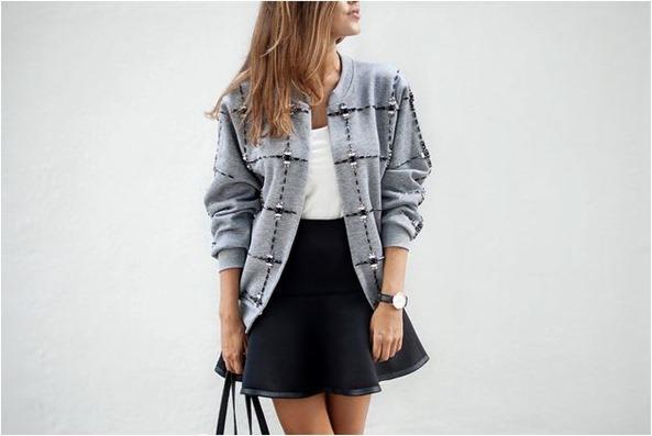 sweatshirt bomber jacket