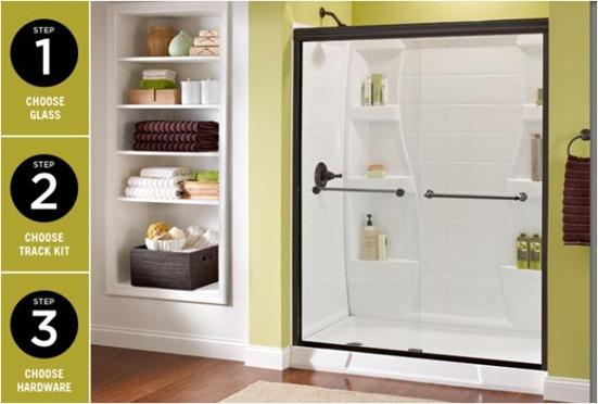 Installing A Shower Door Centsational Style