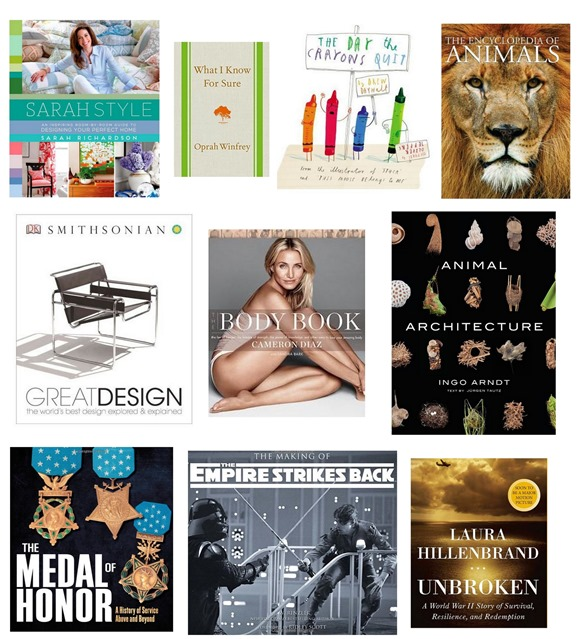 holiday book recommendations 2014