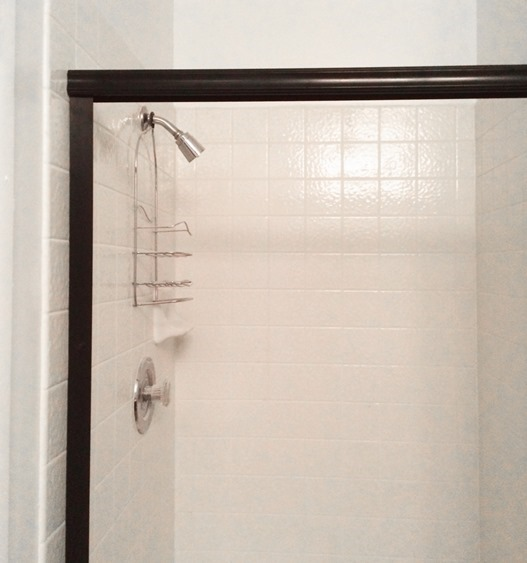 new bronze trim for shower door