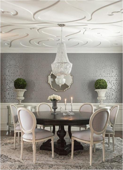 elegant dining room makeover