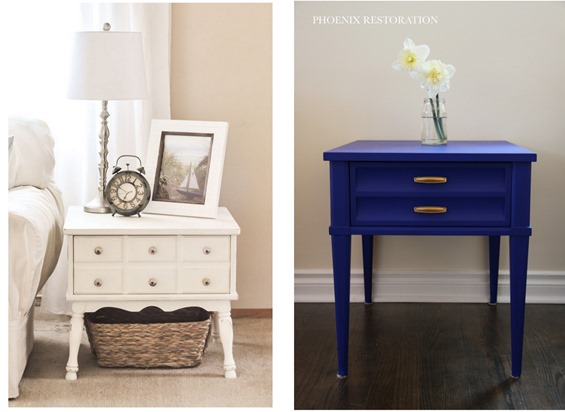 side table makeovers