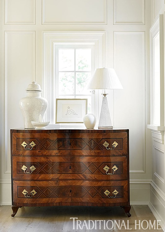 antique chest of drawers white objects