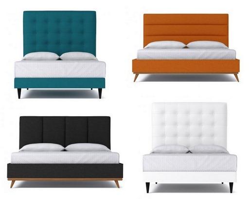 Nice aptb upholstered beds
