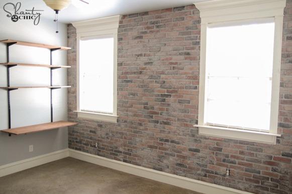 thin brick wall diy