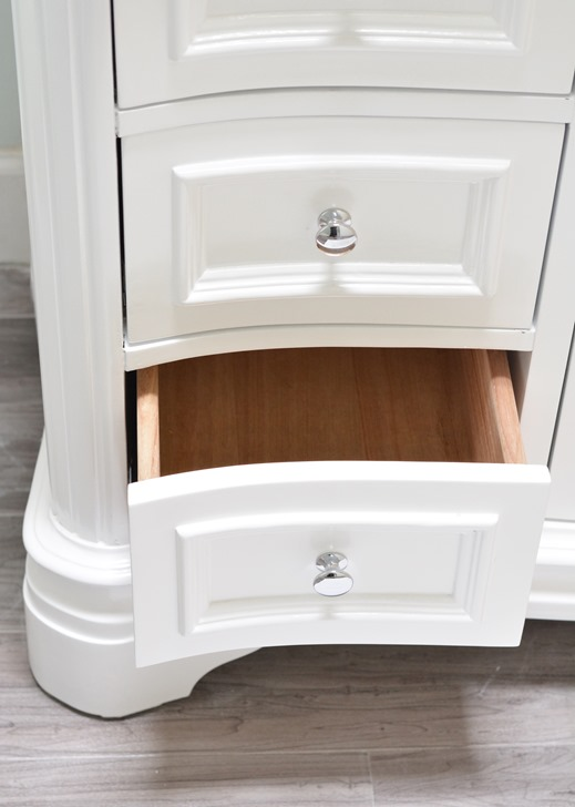 Luxury vanity pull out drawers