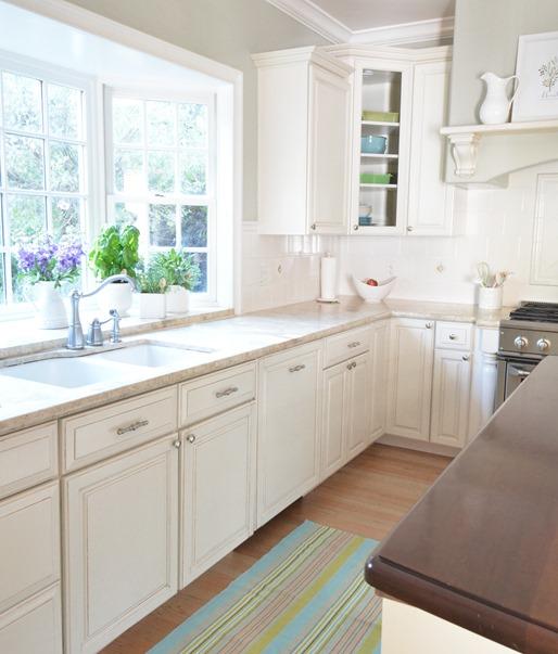 centsational girl white kitchen