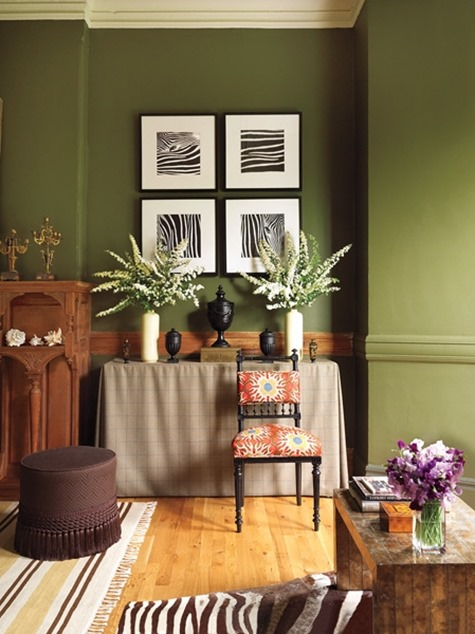 Olive Green Centsational Style