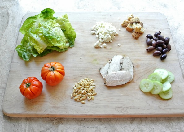 greek chopped salad ingredients