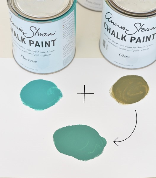 mixing paint