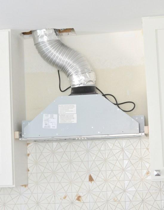 hood liner installation