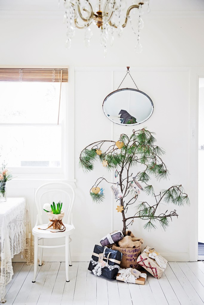 holiday tree branch