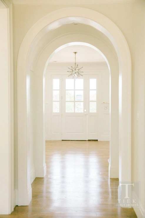 arched entry transition