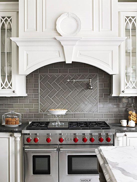 Wonderful Gray Subway Tile Backsplash