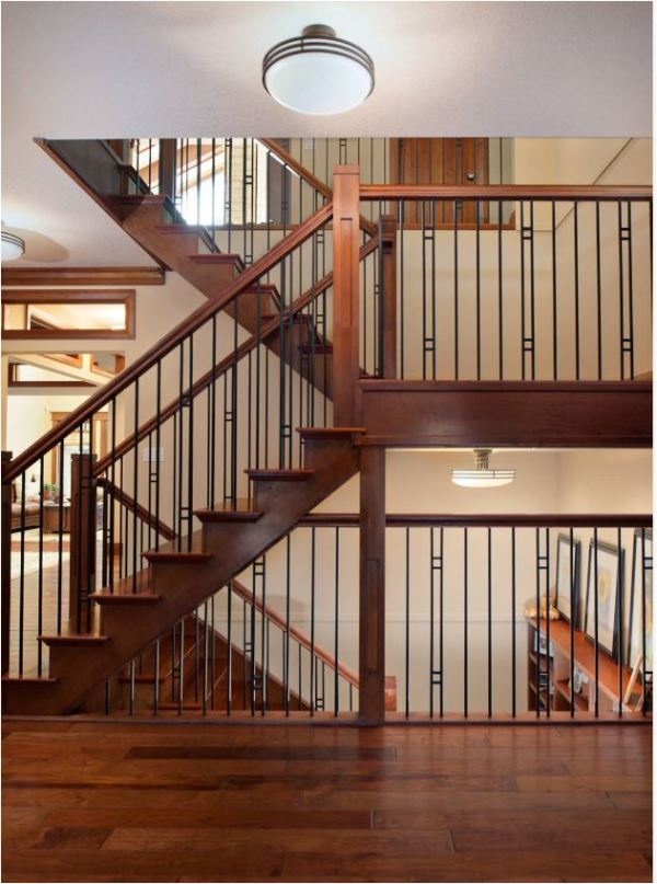 iron contemporary balustrade