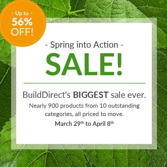 build direct sale event
