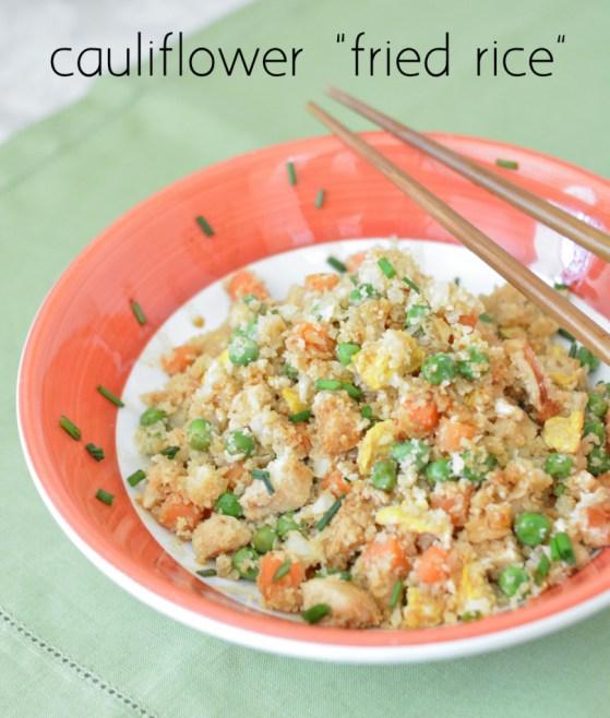 cauliflower fried rice recipe