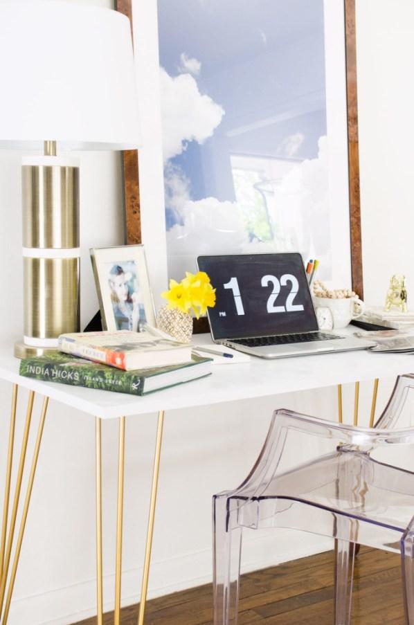 diy hairpin leg desk