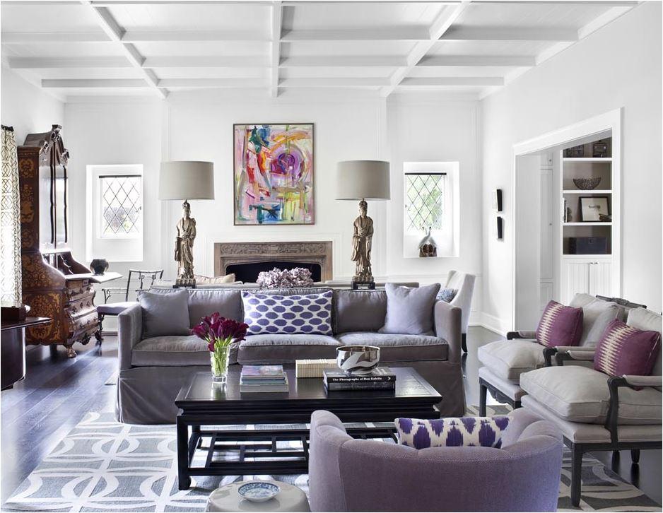 lilac velvet sofas