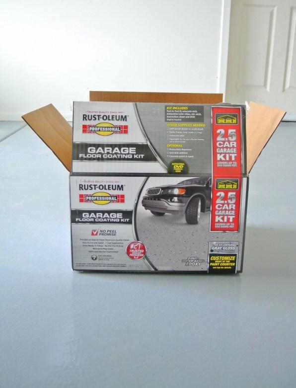 garage epoxy kit