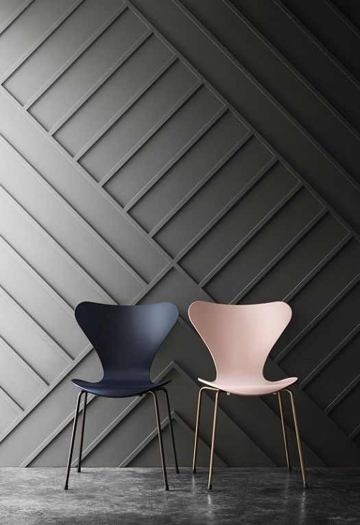 angled dimensional wall treatment