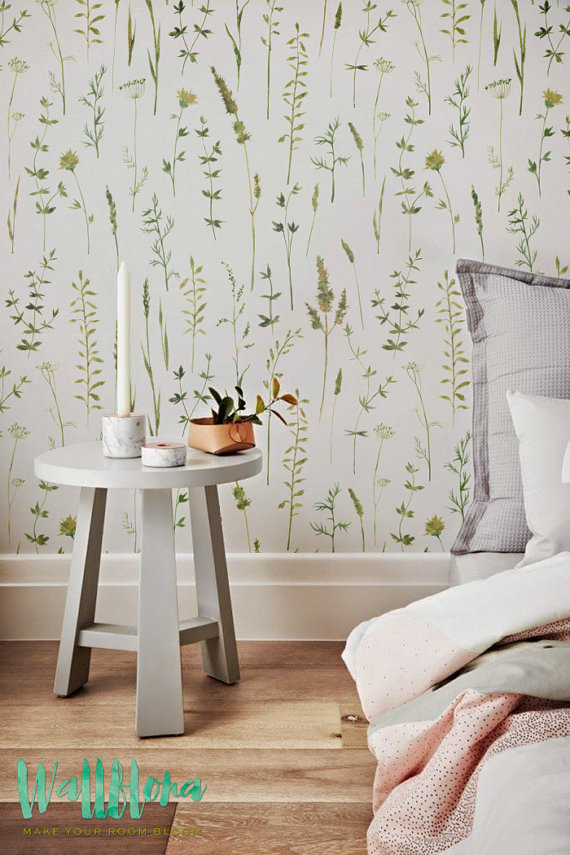 flowers grass wallpaper