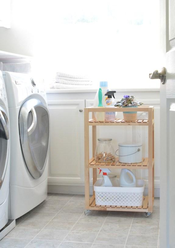 ikea cart laundry room