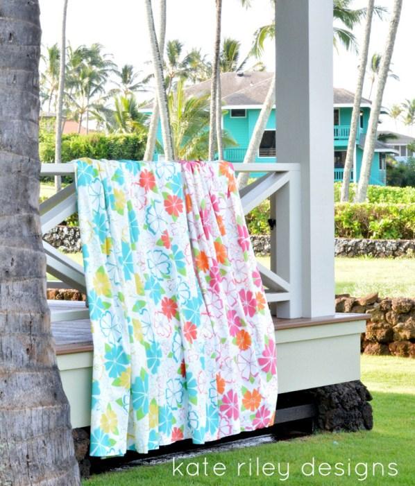 kate riley aloha floral print