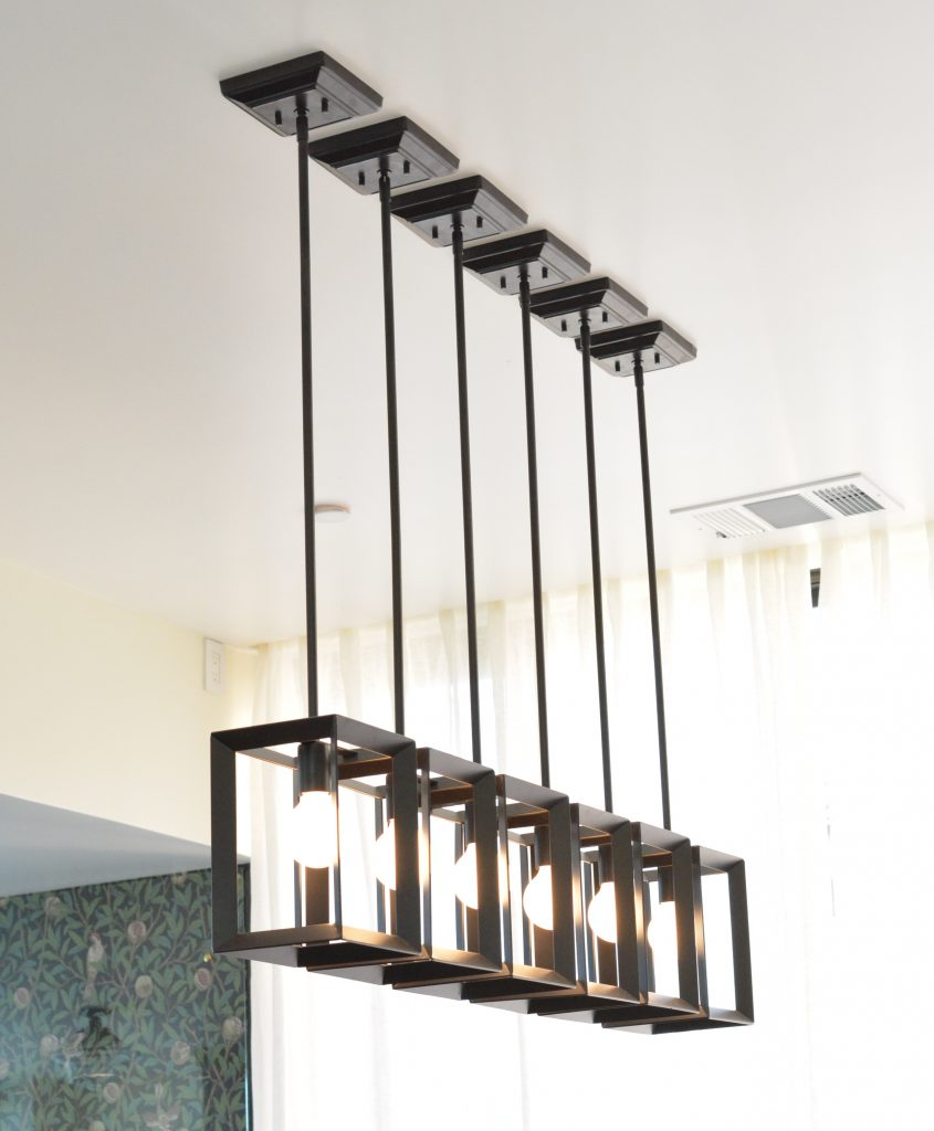 pendants as chandelier