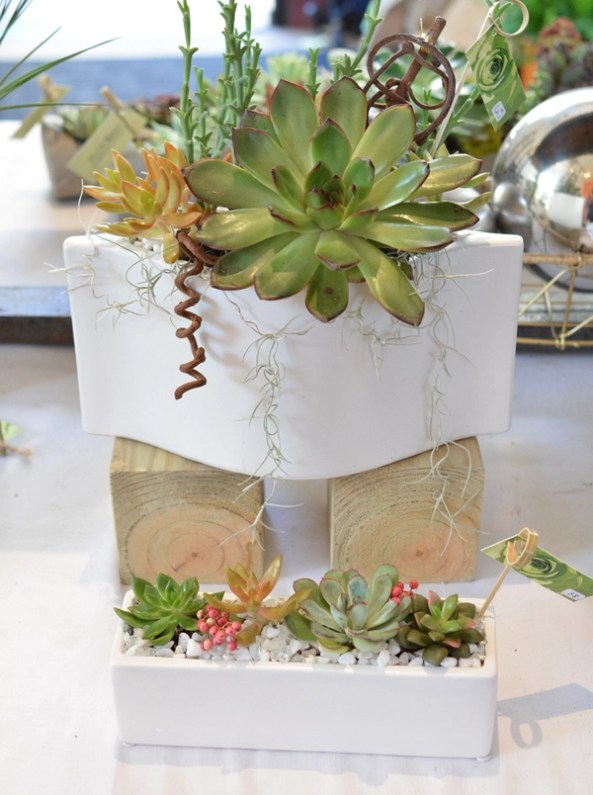 flourish white containers