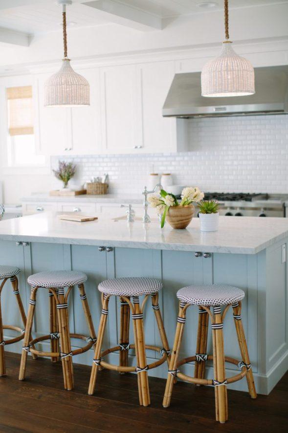 rita chan blue white kitchen