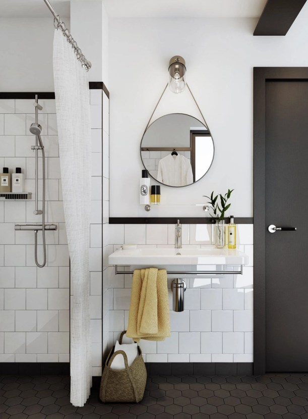 white-square-ceramic-tiles