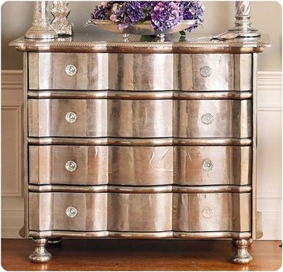 Design Fixation: Metallic Finishes On Furniture
