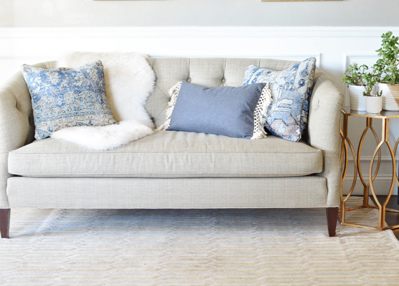 rugs into pillows slider