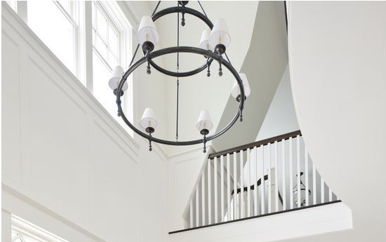 Lovely Foyer Chandeliers for Two Story Homes