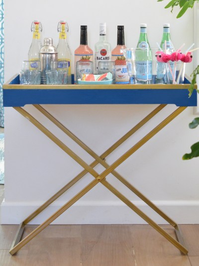 diy furniture makeovers. Blue Butler Tray Diy Furniture Makeovers S