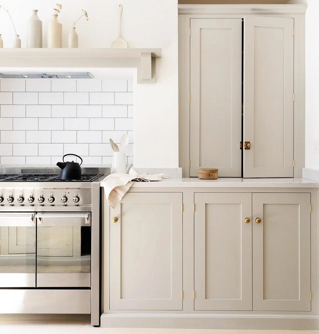 Popular Taupe Kitchen Cabinets