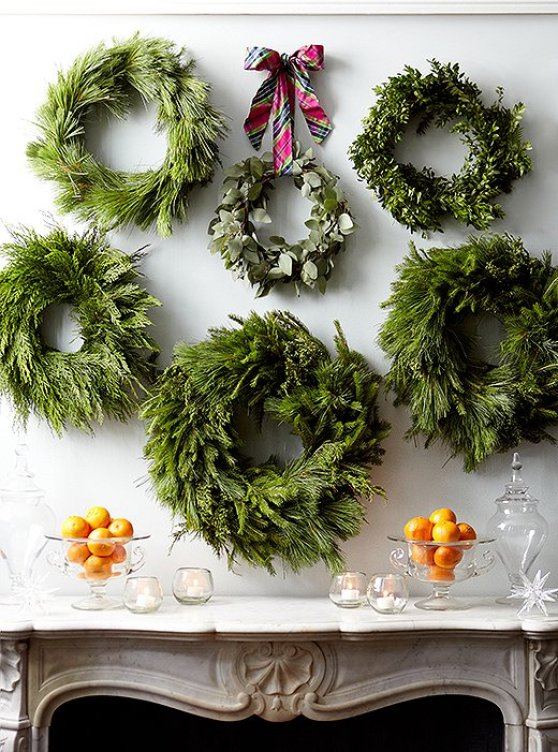 keeping it simple evergreen wreaths centsational style