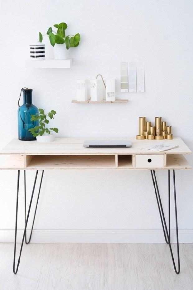 Creative Diy Desk Ideas Centsational Style