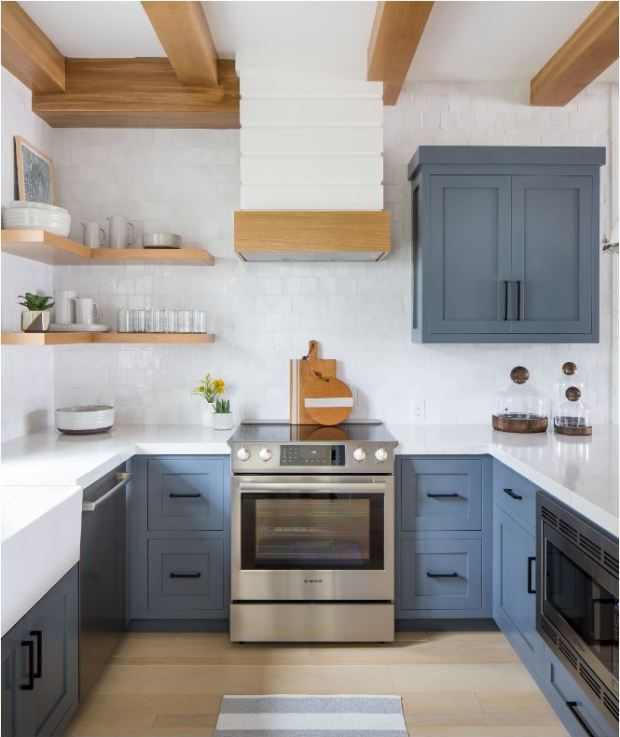 Black Kitchen Units Sale: Forever Classic: Blue Kitchen Cabinets