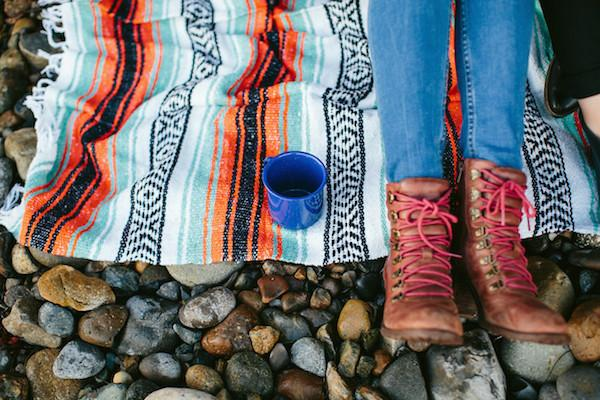 mexican blanket picnic