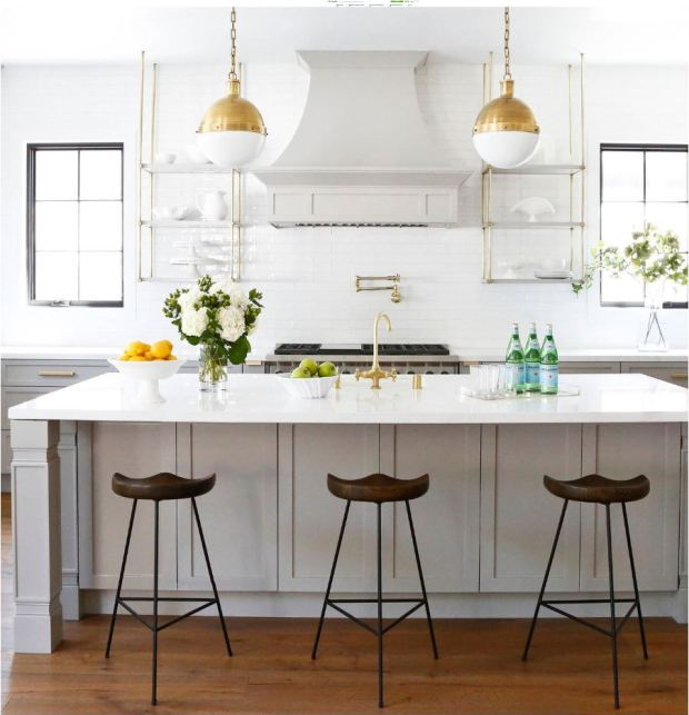 Suspended Shelves From Ceiling: Trending: Suspended Kitchen Shelving