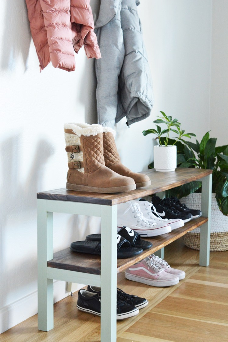 Diy Shoe Rack Centsational Style