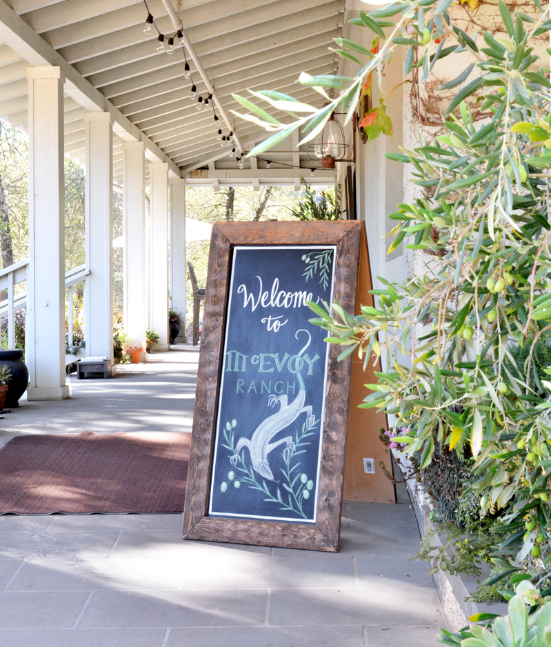 Wine Country Weekend: McEvoy Ranch